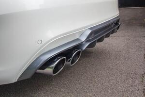 Задний диффузор с насадками Carlsson для Mercedes C-Class W205