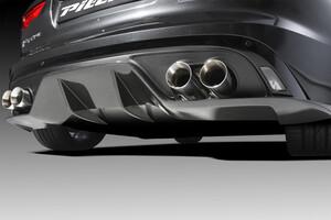 Карбоновый диффузор Piecha для Jaguar F-Type
