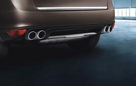Спортивная выхлопная система для Porsche Cayenne 958