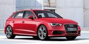 Пороги S-Line для Audi A3 8V Sportback