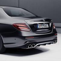 Диффузор с насадками E53 AMG для Mercedes W213