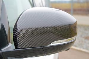 Карбоновые накладки на зеркала Lumma для Range Rover Vogue