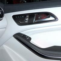 Карбоновые вставки в двери Schatz для Mercedes