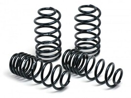 Пружины с занижением H&R для Mercedes E200-E350 W212