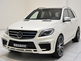 Обвес Brabus Widestar для Mercedes ML63 AMG W166
