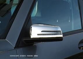 Хромированные накладки на зеркала Schatz для Mercedes