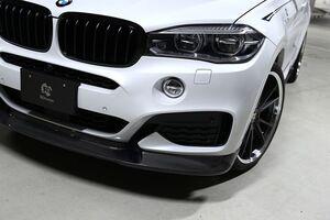 Карбоновая накладка переднего бампера для BMW X6 F16