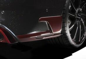 Нижние накладки бампера ABT для Audi RS6 4G