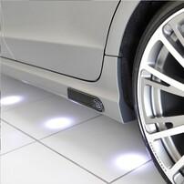 Вставки в  пороги Brabus для Mercedes CLS C218