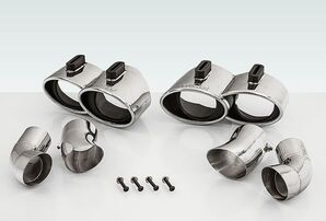 Комплект насадок Techart для Porsche 991 Turbo/Turbo S