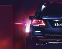 Задние фонари Mercedes GLE W166