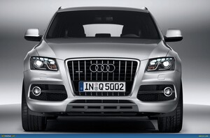 Решетка радиатора S-Line для Audi Q5 8R до 2012