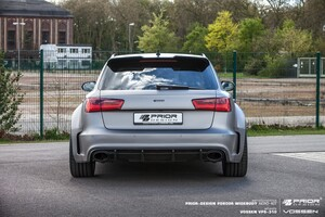 Задний бампер Prior Design для Audi A6 Avant C7