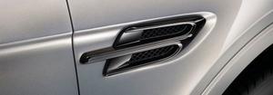 Накладки на передние крылья Blackline для Bentley Bentayga