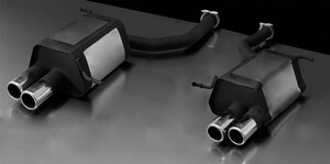Глушители Remus для Mercedes SLK R171