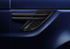 Карбоновые воздуховоды на крылья для Range Rover Sport