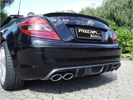 Карбоновый диффузор Piecha Design для Mercedes SLK R171