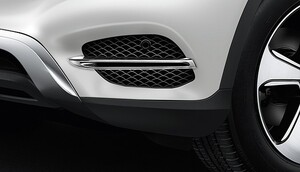 Хромированные накладки для Mercedes GLC