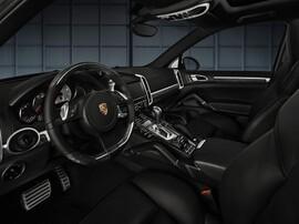 Руль и ручка КПП Anthracite Birch для Porsche Cayenne 958