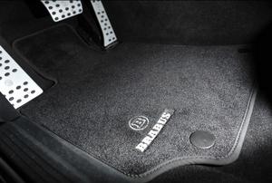 Велюровые коврики Brabus для Mercedes ML W166