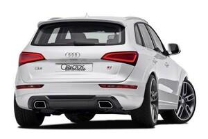 Накладка заднего бампера Caractere для Audi Q5 8R