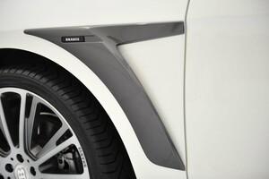 Накладки на крылья Brabus для Mercedes ML W166