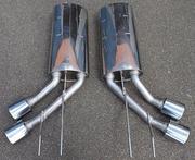 Глушители Eisenmann для Mercedes G63 AMG