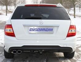 Глушитель Eisenmann для Mercedes C180/C200/C250 W204
