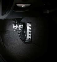 Накладки на педали АКПП для Mercedes