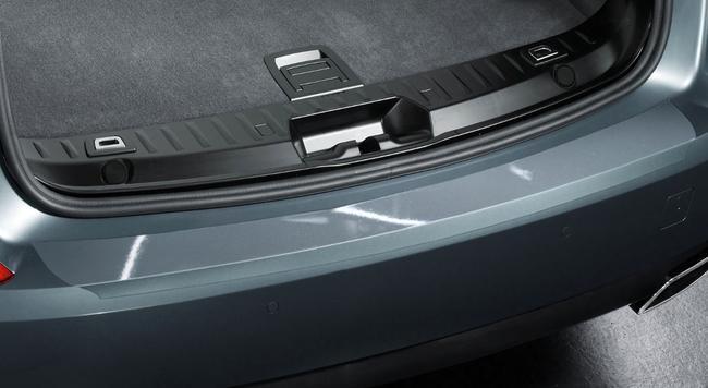 Защитная пленка заднего бампера для BMW G30 5-серия