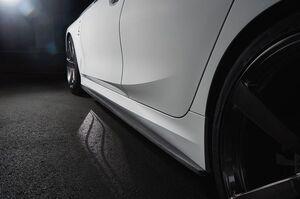 Карбоновые накладки боковых порогов 3DDesign для BMW G20 3-серия