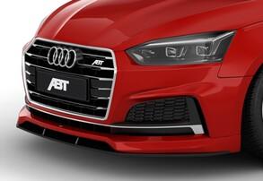 Накладка переднего бампера ABT для Audi A5 B9