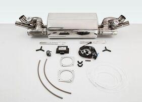 Выхлопная система Techart для Porsche 991 Turbo/Turbo S