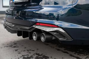 Карбоновый диффузор Capristo для Audi RS5 B9