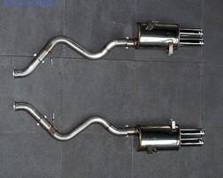 Глушитель BMW M3 E90/E92 3-серия (раздвоенный выхлоп)