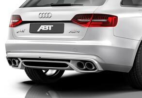 Диффузор с насадками ABT для Audi A4 8K