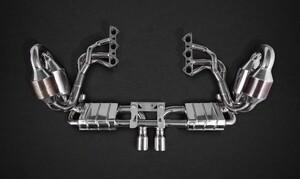 Система выхлопа Capristo для Porsche GT3 991