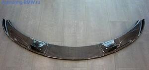 Накладка на передний бампер BMW M5 E60 5-серия