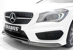 Накладка переднего бампера Brabus для Mercedes CLA C117