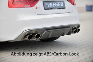 Накладка заднего бампера Rieger для Audi A5 Coupe B8 FL