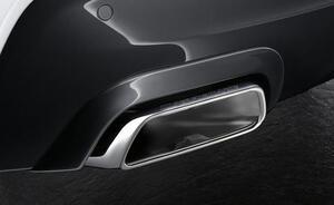 Накладки заднего бампера для BMW G30 5-серия