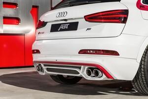 Накладка заднего бампера ABT для Audi Q3