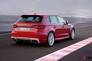 Диффузор RS3 для Audi A3 8V