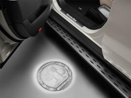 Проекция логотипа AMG