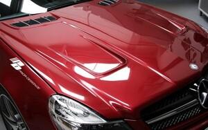 Капот Prior Design для Mercedes SL R230 FL