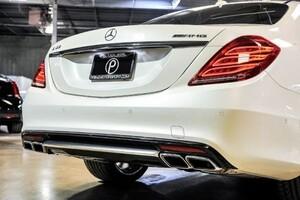 Диффузор с насадками S63 AMG для Mercedes S-Class W222