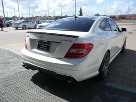 Карбоновый спойлер AMG для Mercedes C-Class Coupe C204