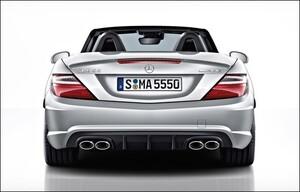 Спойлер AMG для Mercedes SLK R172