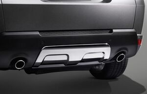Накладка заднего бампера для Range Rover Sport