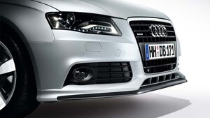 Накладка переднего бампера Votex для Audi A4 B8